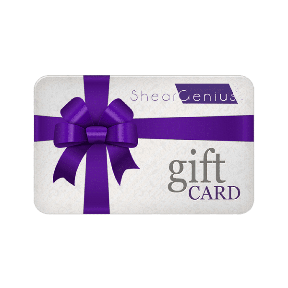 Shear Genius Salon Gift Card